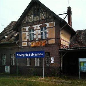 Stacja Nowogród Bobrzański, fot. Anna Iwanowska