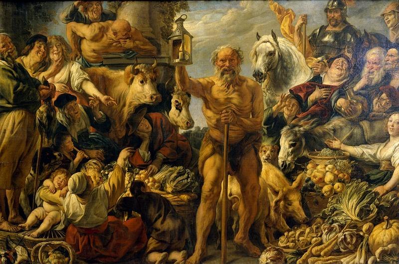 Diogenes Jordaens.jpg, źródło: Wikimedia Commons