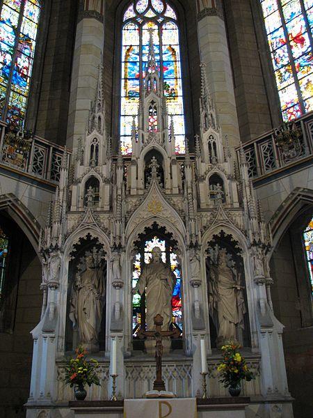Ołtarz Kościoła Wszystkich Świętych w Wittenberdze