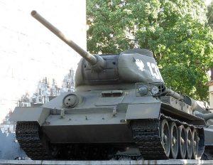 Pomorskie Muzeum Wojskowe - czołg.jpg, źródło: Wikimedia Commons