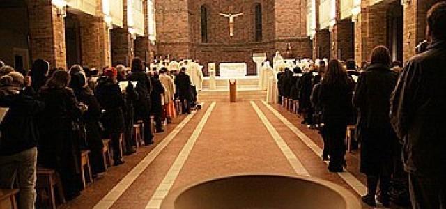 Eucharystia z pozycji ławki…