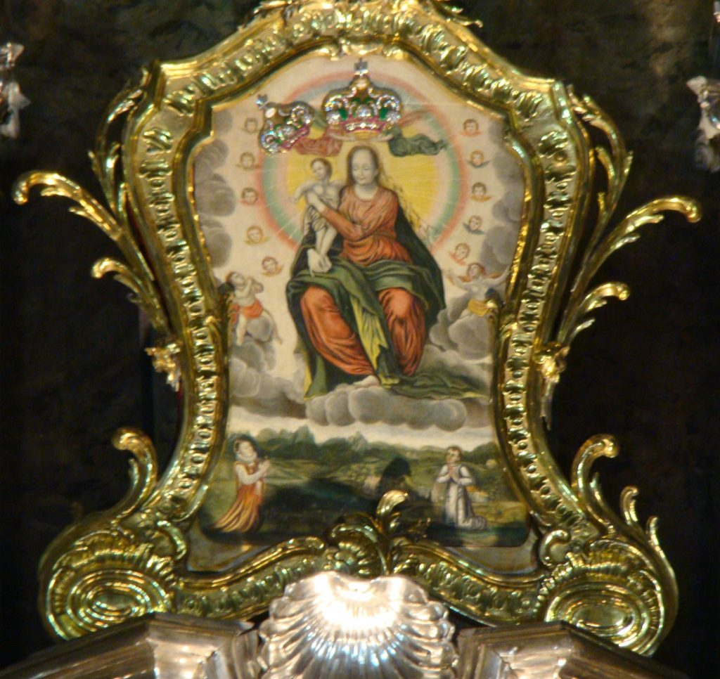 Matka Boża Łaskawa ze Lwowa - to przed tym obrazem Jan Kazimierz składał śluby w 1656 r. (fot. Wikimedia Commons)