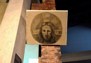 Jezu ufam Tobie Perec Willenberg Muzeum Powstania Warszawskiego.JPG, źródło: Wikimedia commons