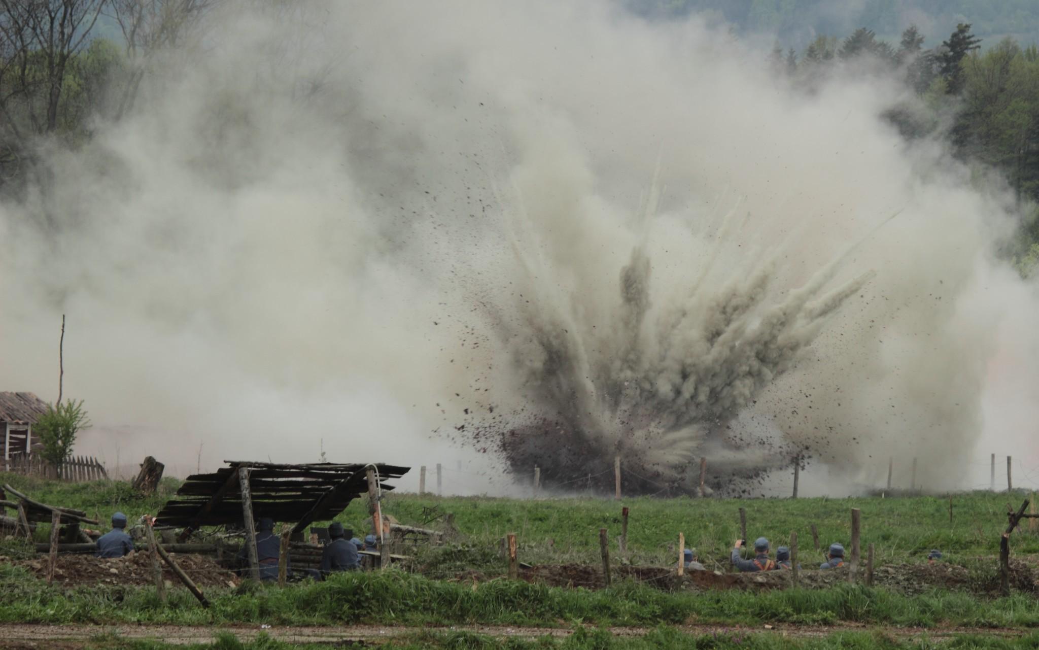 Rekonstrukcja historyczna z okazji stulecia bitwy gorlickiej - fot. Autor