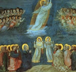 Giotto - Scrovegni - -38- - Ascension.jpg, źródło: Wikimedia commons
