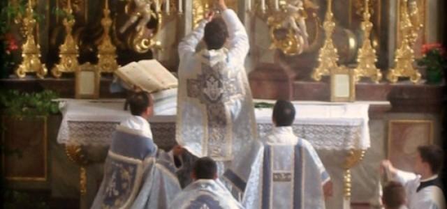 5 najpiękniejszych gestów w dawnej liturgii