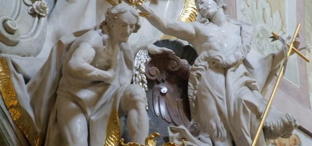 Nawiedzenie Nikodema seniora i chrzest juniora