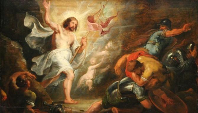 """Peter Paul Rubens, """"Zmartwychwstanie Chrystusa"""", ok. 1616 – ok. 1619"""