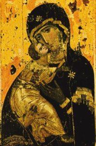 ikona Matki Bożej  Włodzimierskiej