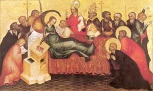 Grudziądz Polyptych-Dormition of Mary