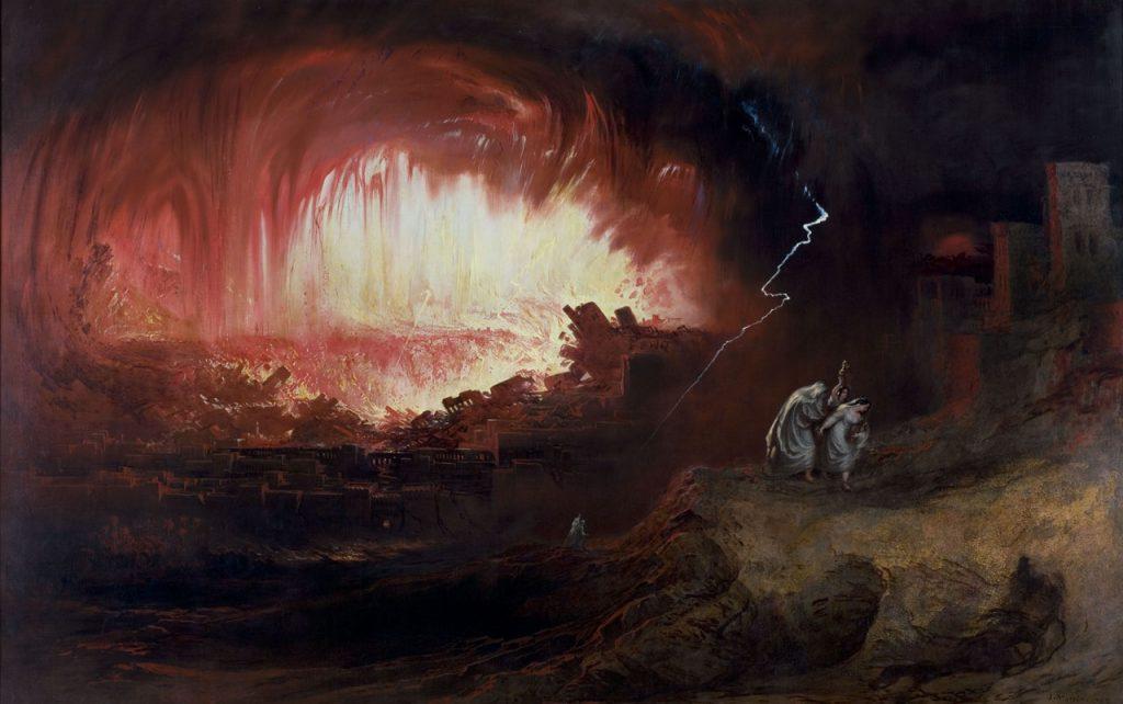 John Martin, Zniszczenie Sodomy i Gomory