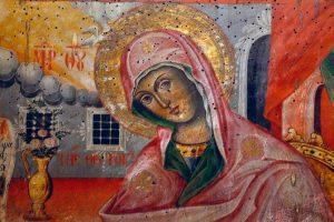 Ikona na Bogorodica vo Sv. Blagoveštenie Prilepsko.jpg, źródło: Wikimedia commons