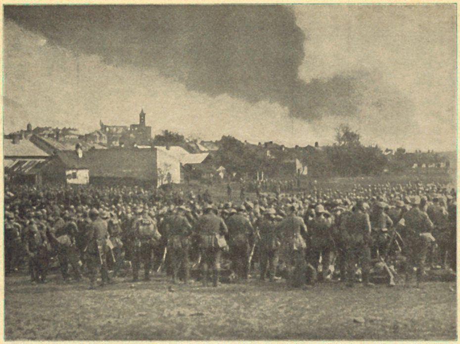 Oddziały austriackie pod Gorlicami - fot. Wikimedia Commons