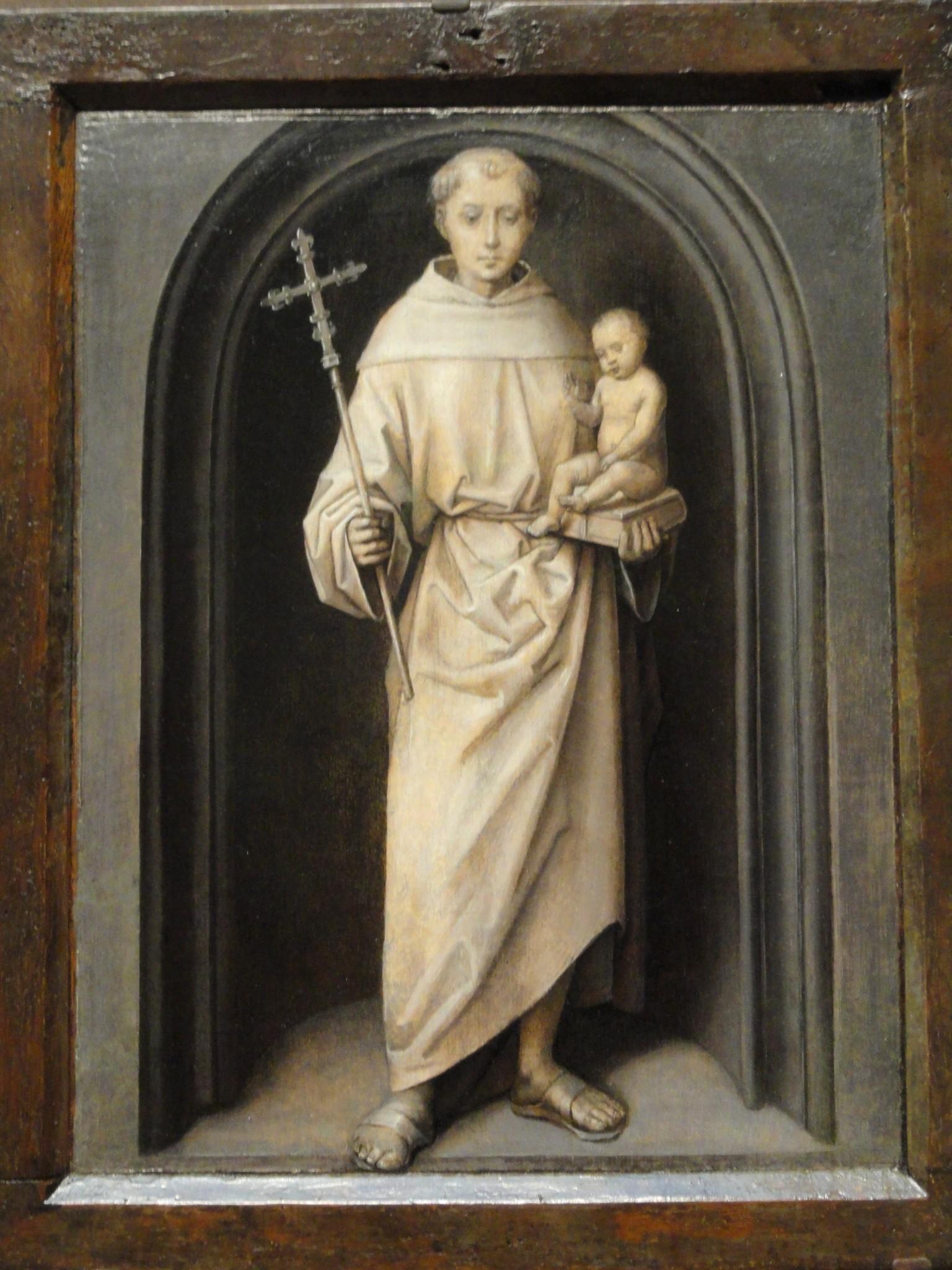 Św. Antoni Padewski - obraz Hansa Memlinga - fot. Wikimedia Commons