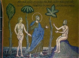 Monreale adam eva meeting.jpg, źródło: Wikimedia commons