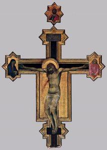 Pietro Lorenzetti - Crucifix - WGA13531.jpg, źródło: Wikimedia commons
