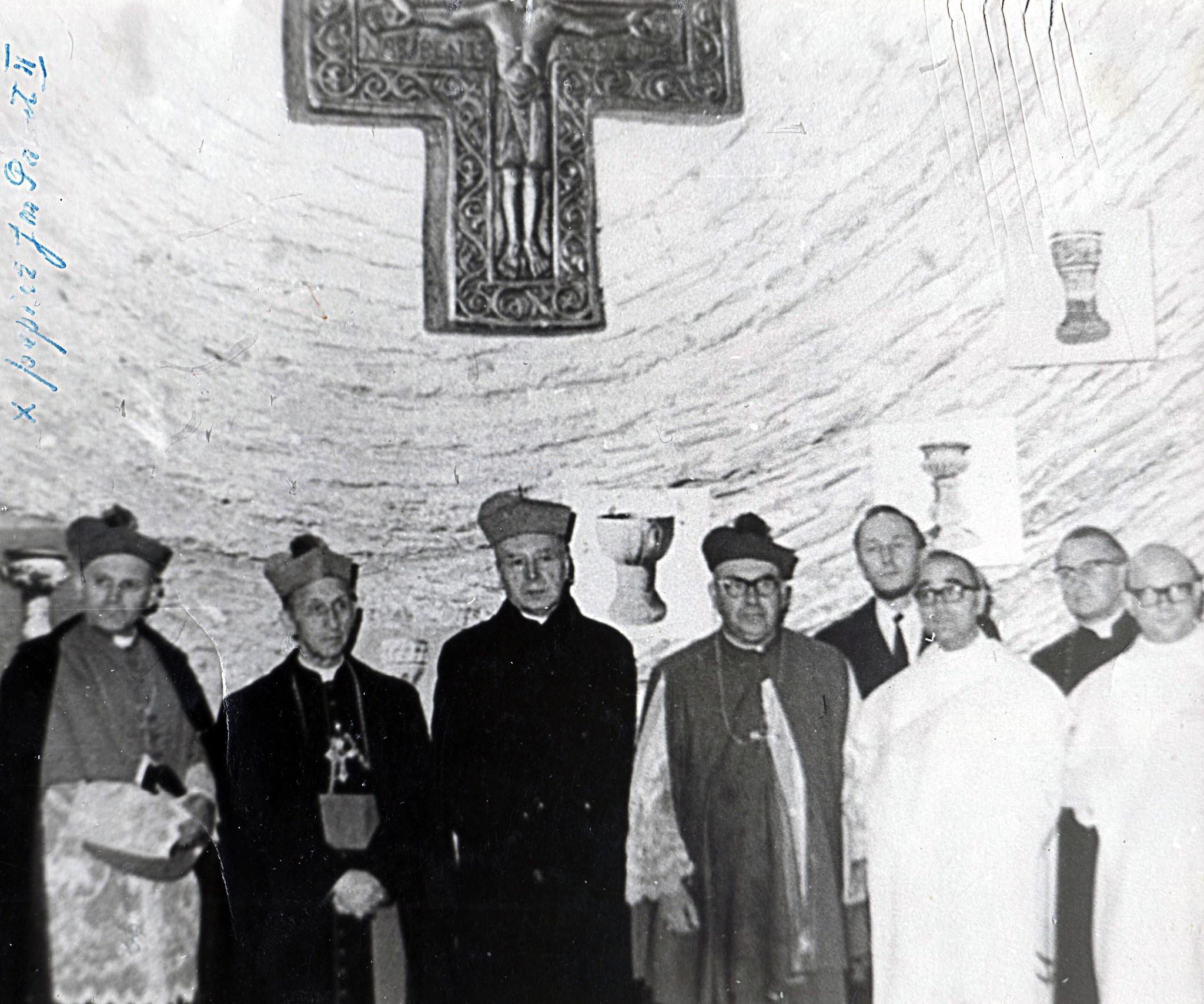 Kard. Wyszyński podczas obchodów milenijnych w Częstochowie - fot. Wikimedia Commons